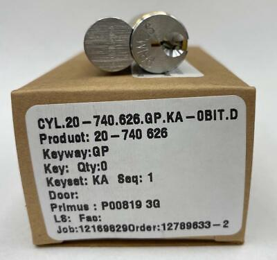 New Schlage Primus Cylinder Lock No Key Cyl.20-740.626.gp.ka-obit.d 20-740 626