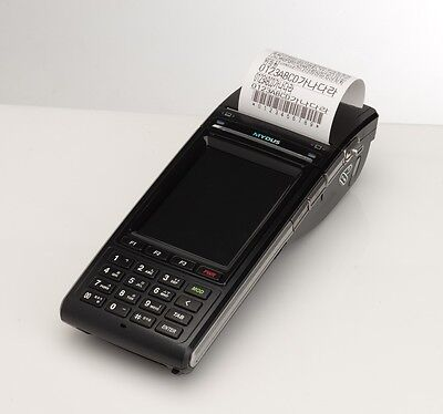 Woongjin Stm-7700 Touchscreen Portable Thermal Printer And Barcode Scanner Pos