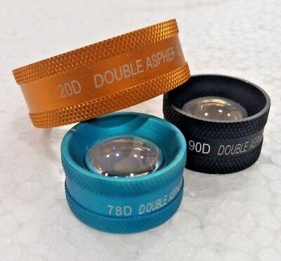 New Lens Pack 20d 90d 78d Approved By Optometrist Free Shipping
