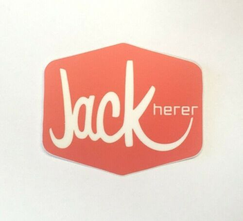 "3"" x 2.55"" Jack Herer Strain Sticker Weed Pot Marijuana 2 Pack - Jack in the Box"