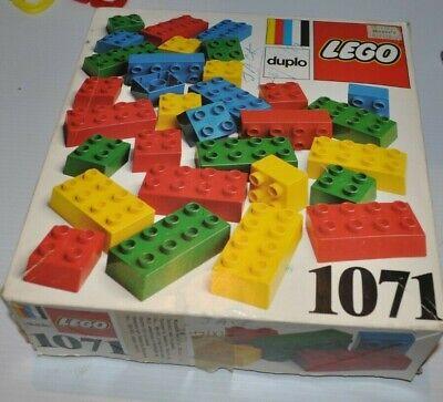 vintage LEGO DUPLO set #1071 1980s vintage blocks