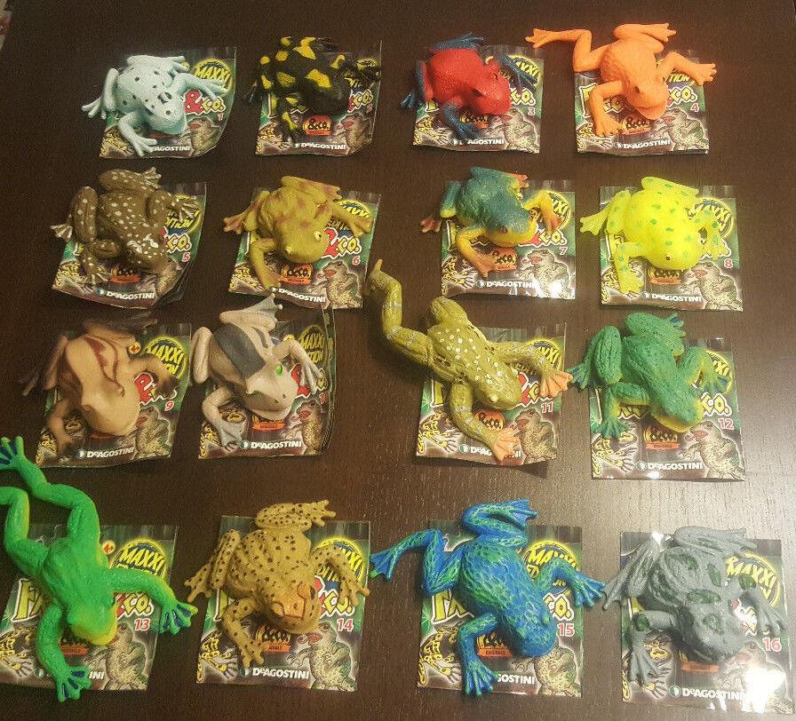 DeAgostini Frogs & Co.Maxxi Edition 16 verschiedene Frogs zum aussuchen Neu