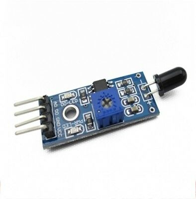 Flame Light Detector Detection Sensor Module For Arduino Smart Car Accessories
