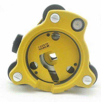 TOPCON trimble arpentage Rotation Tribrach Adaptateur Leica Nikon seco CST sokkia