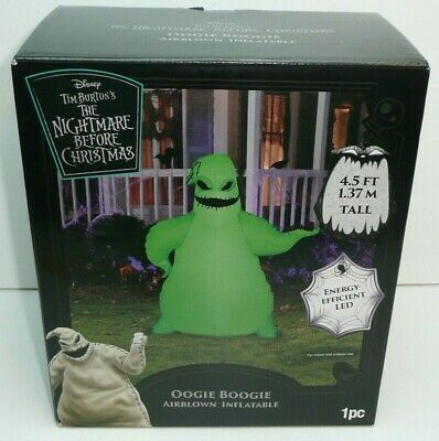 Oogie Boogie Halloween Airblown Inflatable Nightmare Before Christmas LED Lights