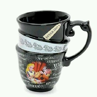 """Disney Tasse """" Alice im Wunderland """"originell durch optische Täuschung 3in1"""