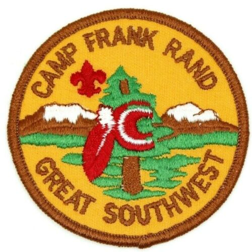 Camp Frank Rand Great Southwest Council Patch Boy Scouts BSA