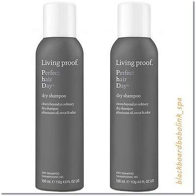 Living Proof Perfect Hair Day Dry Shampoo 4Oz   2 Pack   New   Fresh  Free Ship