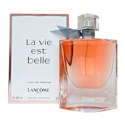 LA VIE EST BELLE BY LANCOME 3.4 OZ L'EAU DE PARFUM WOMEN'S BRAND NEW & SEALED