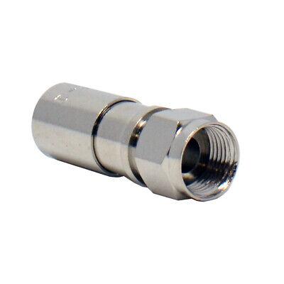 20pcs RG6 Dual Shield Coaxial F-Type Compression -