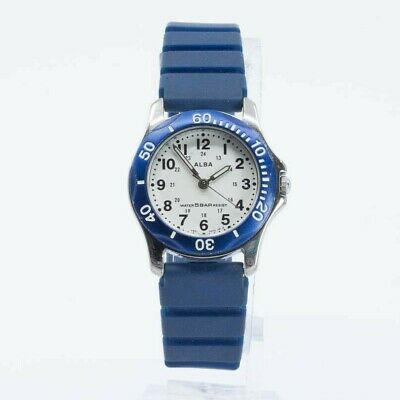 SEIKO ALBA QUARTZ V501-0CG0 MID SIZE LADIES WATCH JAPAN