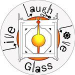Live Laugh Love Glass