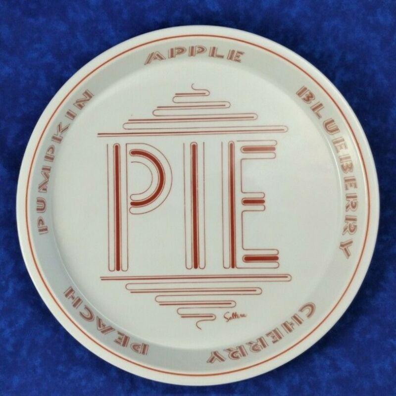 "Vintage Saltera Himark Pie Plate Dish 1977 Gourmet Kitchen 9"" Japan Retro"