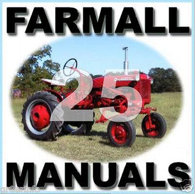 Ih Farmall Cub Lo-boy Parts Ipc Service Maintenance Manual Operator -25- Manuals