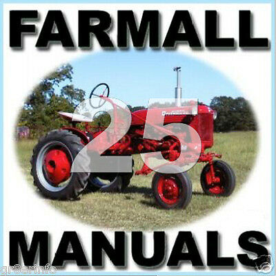 Ih Farmall Lo-boy Cub Service Maintenance Parts Ipc Manual Operator -25- Manuals