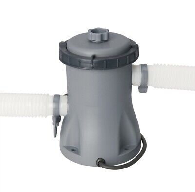 Bestway Swimming Pool Easy set Electric Flowclear Filter Pump 330 Gallon 58381