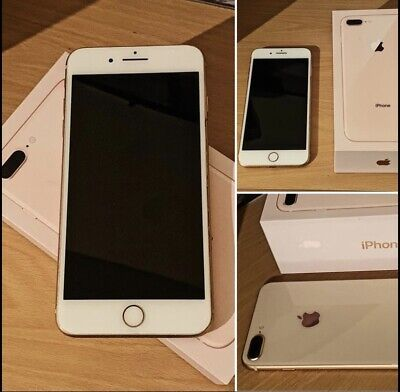 Apple iPhone 8 Plus Rose Gold - 64GB - Good Condition (O2) A1897 (GSM)