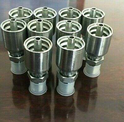 10143 12-12 Parker Aftermarket Hydraulic Hose Fittings 34 Mp 10pk