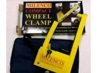 brand new caravan or motorhome wheel clamp
