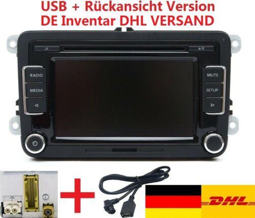 VW Autoradio RCD510 + RVC + USB Kabel für Golf Passat Touran Polo Caddy Jetta CC