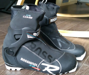 Rossignol X6 Combi nordic / cross country ski boots, size 41.5