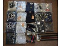 Last Few Bits - Men's Jeans, Belts, Jumpers, Tracksuits - True Religion, Stone Island, Armani, Prada