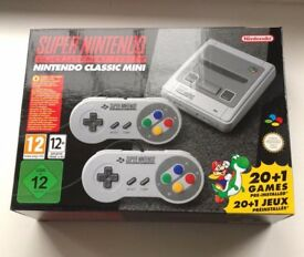 Brand New - Super Nintendo Classic Mini SNES with receipt