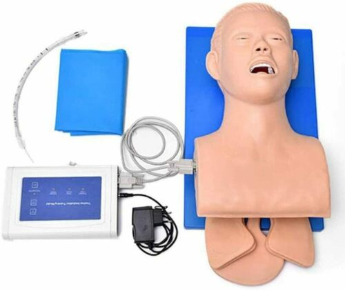 GHDE&MD PVC Adult Intubation Manikin Teaching Model Trachea Oral