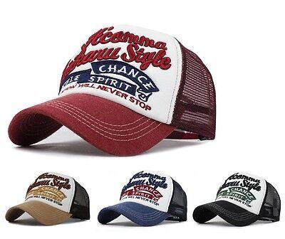 Baseball Cap basecap mütze baseballcap kappe unisex vintage Mesh Trucker Mesh-cap Vintage
