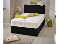 ***Royal Ortho Set*** New Double or King Divan Bed Base with Dual-Sided 10 inch Orthopaedic Mattress