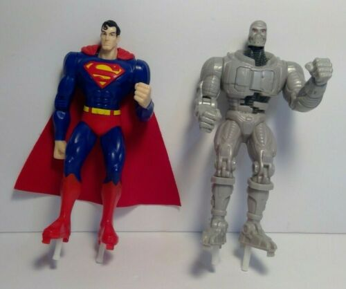 RARE SUPERMAN & METALLO ROCK
