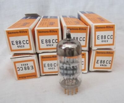 E88CC SIEMENS Valve Tube - Gold Pin - Germany -  NOS for sale  Shipping to Ireland