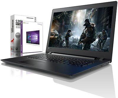 Lenovo 17.3 Gaming Laptop - i5 7200U - 8GB DDR4 - 1TB - Win10 Prof - Notebook