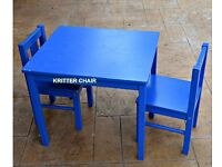 IKEA KRITTER 2 CHAIRS and TABLE for 10