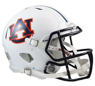 Auburn Tigers Riddell Speed Authentic Ncaa Football Helmet