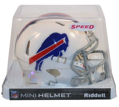 - BUFFALO BILLS RIDDELL SPEED FOOTBALL MINI HELMET NEW IN RIDDELL BOX 3001949
