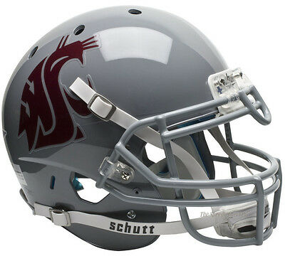WASHINGTON STATE COUGARS SCHUTT XP AUTHENTIC FOOTBALL HELMET