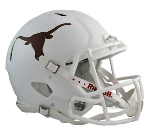 TEXAS LONGHORNS AUTHENTIC SPEED FOOTBALL HELMET