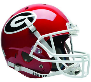 GEORGIA BULLDOGS XP FOOTBALL HELMET FULL SIZE SCHUTT