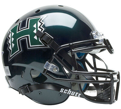 (HAWAII RAINBOW WARRIORS SCHUTT XP AUTHENTIC FOOTBALL HELMET)
