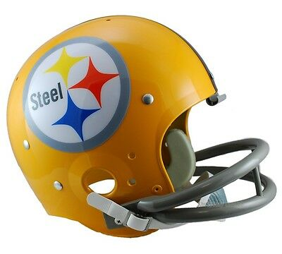 (PITTSBURGH STEELERS 1962 TK THROWBACK FULL SIZE FOOTBALL HELMET)