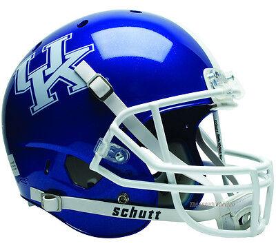 KENTUCKY WILDCATS BLUE SCHUTT XP FULL SIZE REPLICA FOOTBALL (Blue Replica Football Helmet)
