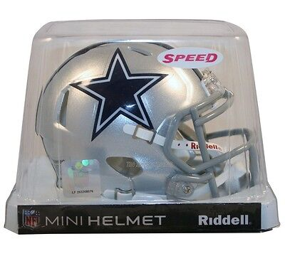 Dallas Cowboys Riddell Nfl Mini Speed Football Helmet