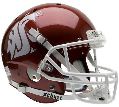 Washington Cougars Football (WASHINGTON STATE COUGARS SCARLET SCHUTT XP FULL SIZE REPLICA FOOTBALL)