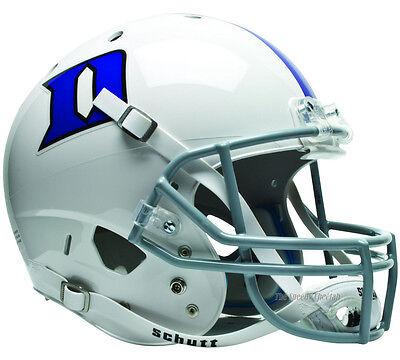 DUKE BLUE DEVILS SCHUTT XP FULL SIZE REPLICA FOOTBALL (Blue Replica Football Helmet)
