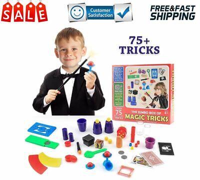 kit de juguetes magicos con varita y 75 trucos de magia para ninos ninas regalo