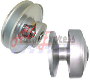 40-Series-Go-Kart-Torque-Converter-Driven-Driver-Clutch-Pulley-Set-Kit-Comet-40D