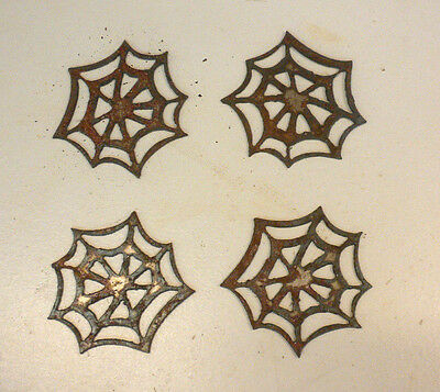 Lot of 4 Spider Web Halloween Shapes 3