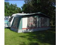 Ventura Neptune Verde caravan awning in very good condition /courier