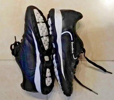 Sondico Ergofit Girl's Black Sports/Hockey Shoes Size 2 in Excellent Condition for sale  Shipping to Nigeria